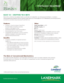 Basis XC Cropping Tech Note