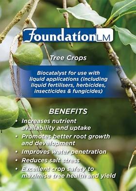 foundation lm tree crops fertiliser biocatalyst